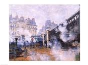 The Pont de l'Europe, Gare Saint-Lazare, 1877
