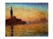 View of San Giorgio Maggiore, Venice by Twilight, 1908