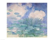 Waterlilies, 1914-17 reflection