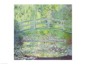 The Waterlily Pond with the Japanese Bridge, 1899
