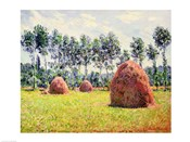 Haystacks at Giverny, 1884