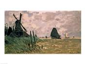 A Windmill near Zaandam, 19th century