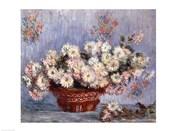 Basket of Chrysanthemums, c.1878