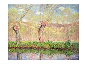 Spring, River Bank at Epte, 1885