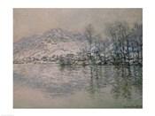 The Seine at Port Villez in Winter, 1885
