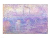 Waterloo Bridge in Fog, 1899-1901
