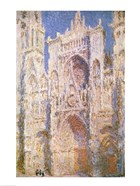 Rouen Cathedral, West Facade, Sunlight, 1894