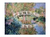 The Japanese Bridge, Giverny, 1892