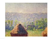 The Haystacks or, The End of the Summer, at Giverny, 1891