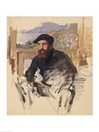 Self Portrait in his Atelier, c.1884