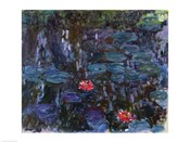 Waterlilies with Reflections of a Willow Tree, 1916-19