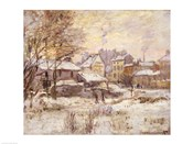 Snow Effect with Setting Sun, 1875