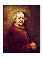 Self Portrait in at the Age of 63, 1669