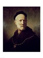 Portrait of Rembrandt's Father