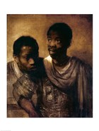 Two Negroes, 1661
