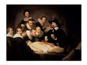 The Anatomy Lesson of Dr. Nicolaes Tulp, 1632