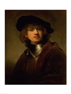 'Tronie' of a Young Man with Gorget and Beret, c.1639