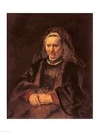 Portrait of an Elderly Woman, c. 1650