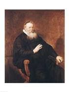 Portrait of Pastor Eleazer Swalmius