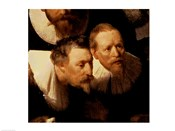 The Anatomy Lesson of Dr. Nicolaes Tulp, 1632 (two viewers detail)