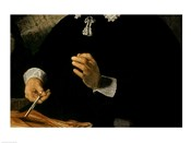 The Anatomy Lesson of Dr. Nicolaes Tulp, 1632 (hands detail)