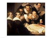 The Anatomy Lesson of Dr. Nicolaes Tulp, 1632 (detail)