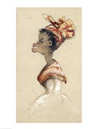 Black Woman Wearing a Headscarf, 1857