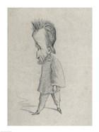 Caricature of the Journalist Theodore Pelloquet, 1858