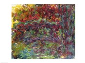 The Japanese Bridge at Giverny - abstract