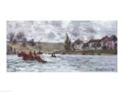 Village de Lavacourt, pres de Vetheuil, 1878