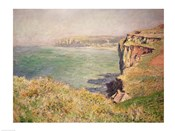 Cliff at Varengeville, 1882
