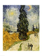 Road with Cypresses, 1890