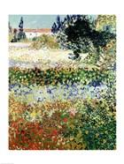Garden in Bloom, Arles, 1888