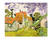 Street in Auvers-sur-Oise, 1890
