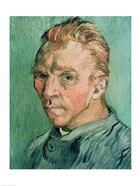 Self Portrait, 1889 (green)