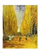 L'Allee des Alyscamps, Arles, 1888