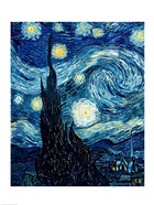 The Starry Night, June 1889 Detail A