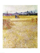 Wheatfield with Sheaves, 1888