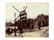 The Moulin de la Galette, 1886