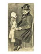 Seated Man with his Daughter, 1882