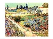 The Garden at Arles, 1888