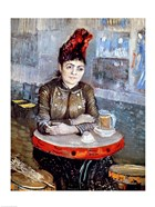 Woman in the 'Cafe Tambourin', 1887