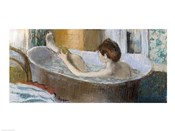 Woman in her Bath, Sponging her Leg, c.1883