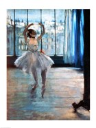 Dancer in Front of a Window