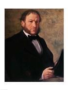Portrait of Monsieur Ruelle, 1861