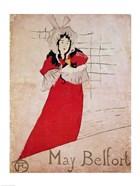 May Belfort, France, 1895