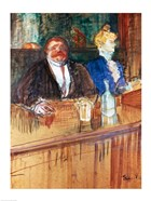 In the Bar: The Fat Proprietor and the Anaemic Cashier, 1898