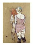 Two Semi-Nude Women at the Maison de la Rue des Moulins, 1894