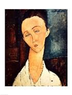 Portrait of Lunia Czechowska, 1918