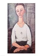Portrait of Madame Chakowska, 1917